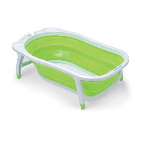 bagnetto chiudibile utilizzabile dalla nascita fino a 15 kg di peso morbido comodo e pratico per il bambino appendibile alla