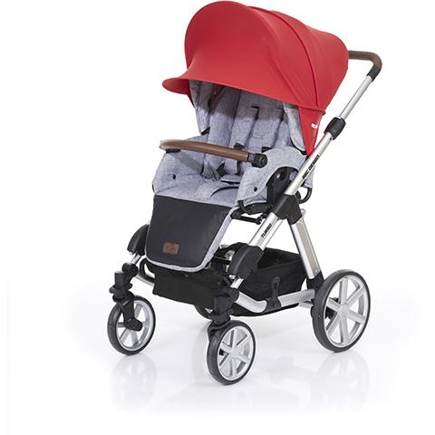 Accessori per carrozzine - Vela ombreggiante Sunny Plus Cranberry by ABC Design