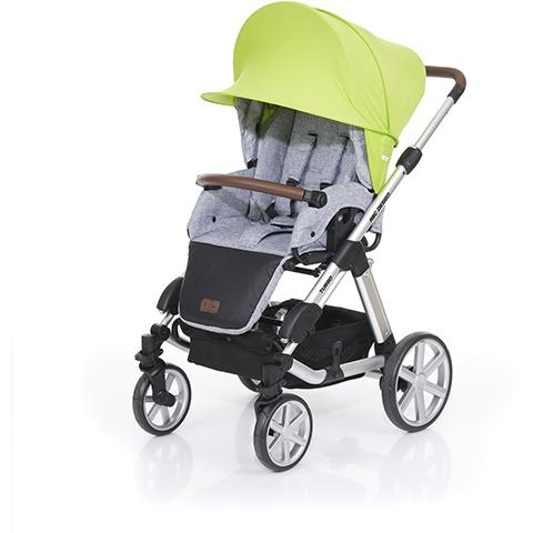 Accessori per carrozzine - Vela ombreggiante Sunny Plus Lime by ABC Design