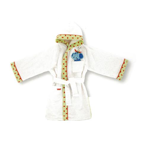Abbigliamento e idee regalo - Accappatoio spugna Fisher Price - Story II taglia L [6-7 anni, statura cm. 110-116] by Somma