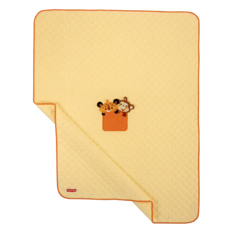 Coperte, lenzuolini e paracolpi - Quilt ricamato per lettino- Fisher Price - Story III FP by Somma