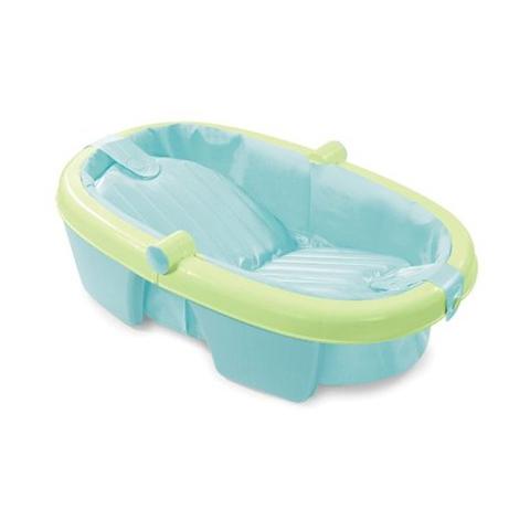 vasca da bagno del bambini verde : Vasca da bagno pieghevole Summer Infant SU08134 vaschetta neonato ...