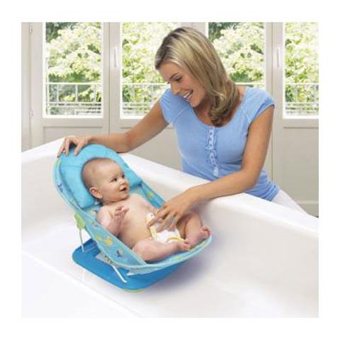 dalla nascita fino a quando il bambino non riesce a stare seduto da solo la sdraietta di supporto splish splash culla i neonati rendendo