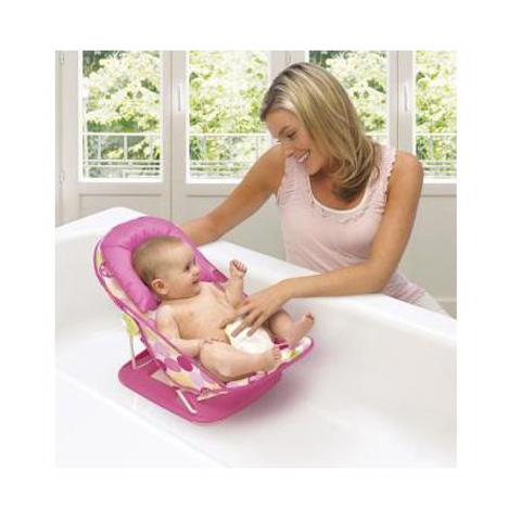 Poltroncine per il bagnetto - Sedile di supporto per il bagnetto Splish Splash SU08754 rosa by Summer Infant