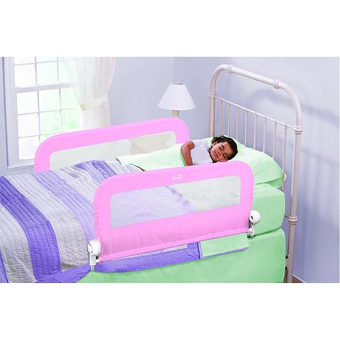 Barriere letto - Spondina letto doppia SU12211 rosa by Summer Infant