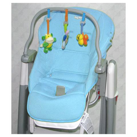 Accessori per la pappa - Kit accessorio per Tatamia e Prima Pappa Newborn Azzurro by Peg Perego