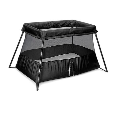 babyreisebett klappbett reisebett baby bjorn travel cot light black 40180 ebay. Black Bedroom Furniture Sets. Home Design Ideas