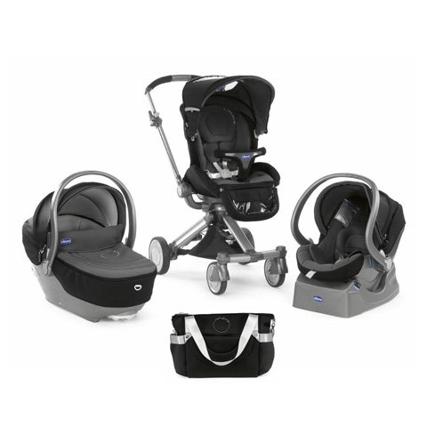 poussette trio i move top noir chicco ebay. Black Bedroom Furniture Sets. Home Design Ideas