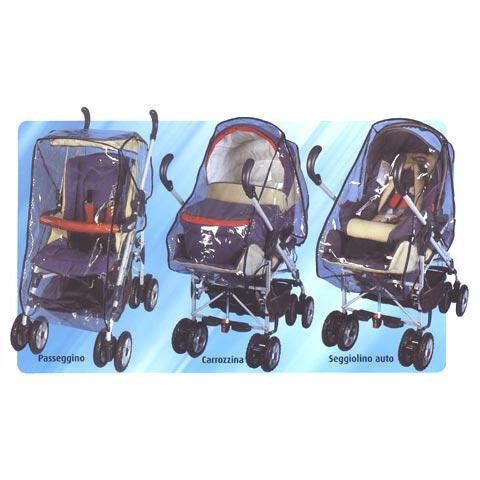 Accessori per carrozzine - Accessorio per passeggino Trixi - parapioggia universale per trio TCNB by Tecno Baby