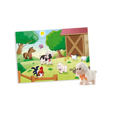 Giocattoli 24+ mesi - Puzzle 36 pz. Fattoria  31002 by Trudi