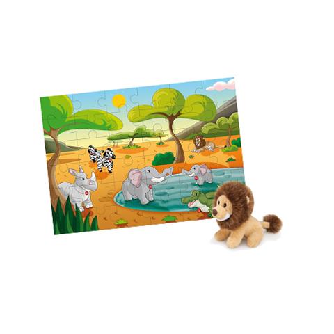 Giocattoli 24+ mesi - Puzzle 36 pz. Savana 31005 by Trudi
