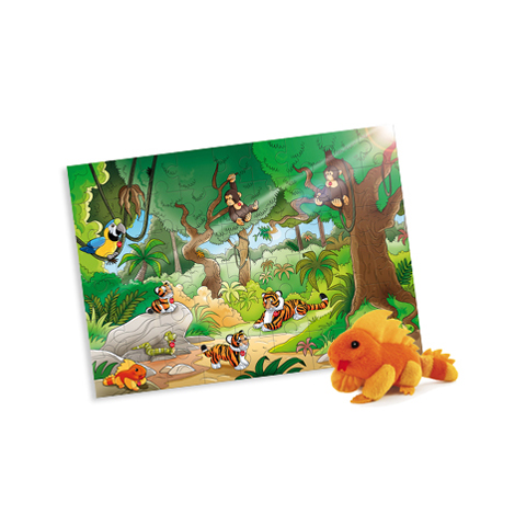 Giocattoli 24+ mesi - Puzzle 54 pz. Giungla 31007 by Trudi