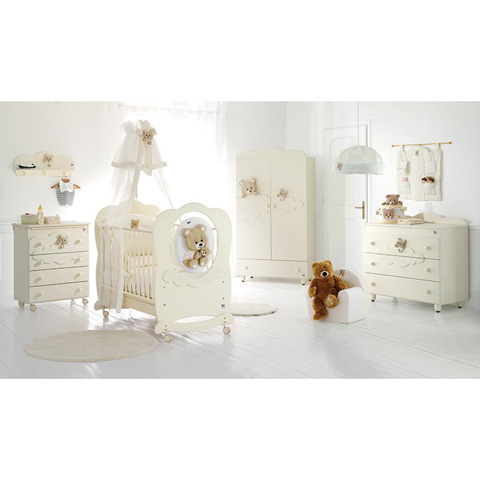 Camerette complete - Collezione Abbracci by Trudi Panna by Baby Expert