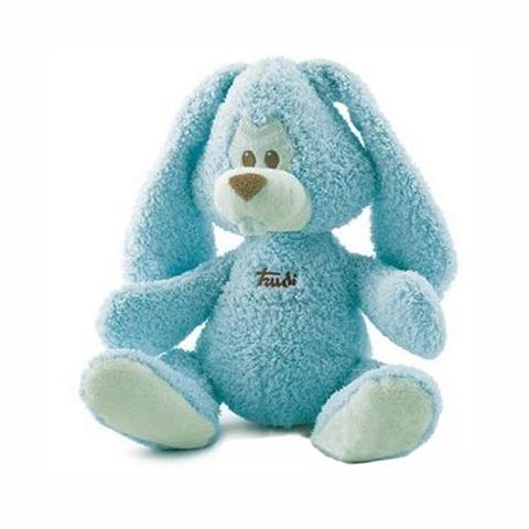 Giocattoli 12+ mesi - Coniglio cremino azzurro 23792 [cm. 36] by Trudi