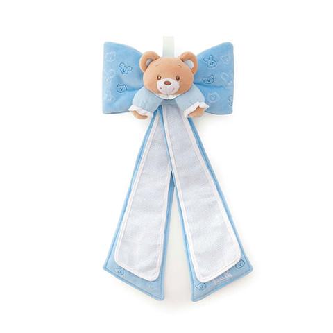 Abbigliamento e idee regalo - Fiocco Orsetto nascita azzurro [28255] by Trudi