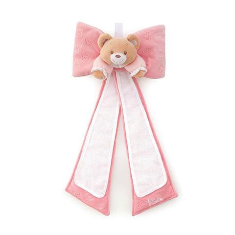 Abbigliamento e idee regalo - Fiocco Orsetto nascita rosa [28254] by Trudi