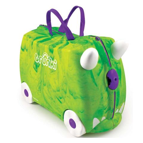 Abbigliamento e idee regalo - Portagiocattoli Valigetta cavalcabile Trunki 008 Rex [verde] by Trunki