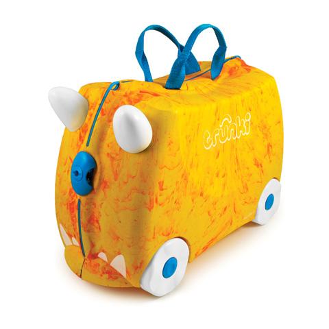 Abbigliamento e idee regalo - Portagiocattoli Valigetta cavalcabile Trunki 009 Rox [giallo] by Trunki