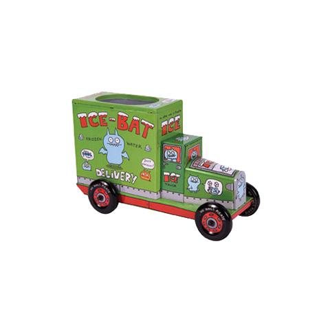 Abbigliamento e idee regalo - Portapenne Tin Truck 226693 - Green by Uglydoll