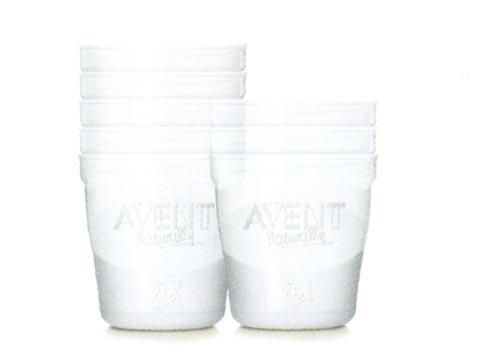 Allattamento e svezzamento - Vasetti VIA 10 vasetti da 180 ml. [6934 SCF615/10] by Avent