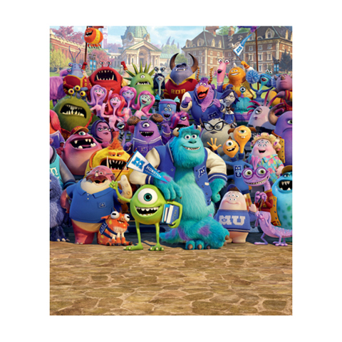 Complementi e decori - Universita dei Mostri - poster murale 8 pannelli Monsters University [48803] by Walltastic