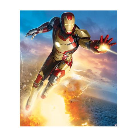 Complementi e decori - Iron Man - poster murale 8 pannelli Iron Man [42780] by Walltastic