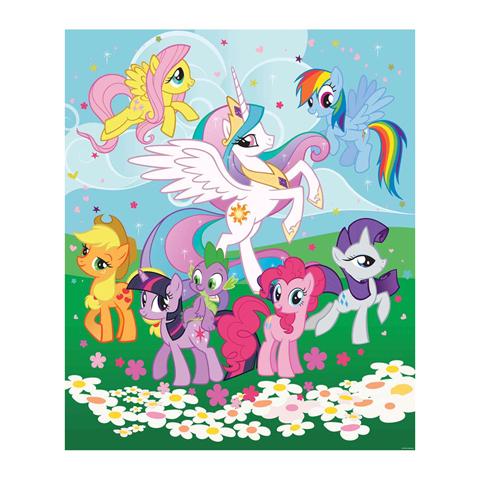 Walltastic My Little Pony Amicizia fantastica - adesivo murale