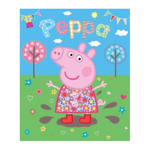 Walltastic Peppa Pig pozzanghera fangosa - adesivo murale