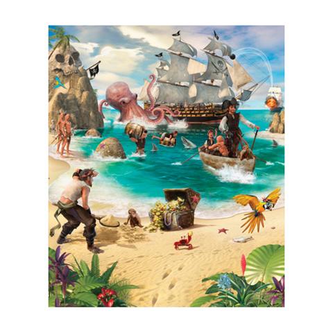 Complementi e decori - Avventure di Pirati e Tesori - poster murale 8 pannelli Pirate and Treasure Adventure [42131] by Walltastic