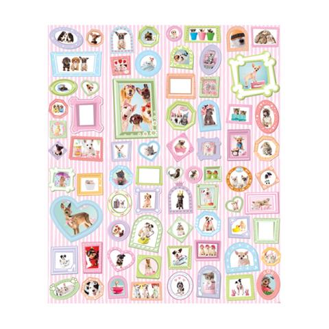 Complementi e decori - Studio degli animali - poster murale 8 pannelli Studio Pets [42124] by Walltastic