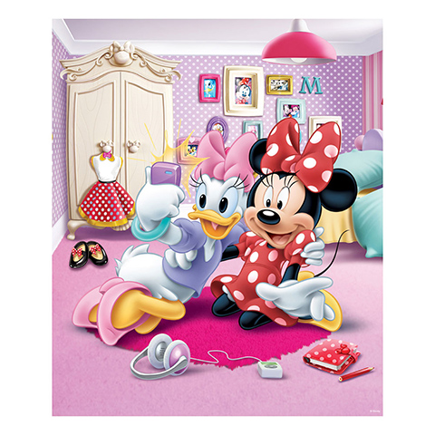 Walltastic paperina e minnie poster murale 8 pannelli for Decorare la stanza di minnie e topolino