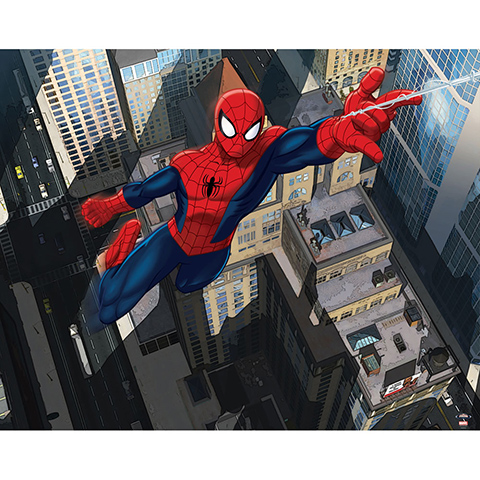 Complementi e decori - Ultimate Spiderman - poster murale 12 pannelli ULTIMATE SPIDERMAN [43114] by Walltastic