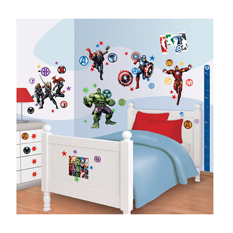 Complementi e decori - Kit adesivi decorativi - I Vendicatori Avengers Assemble [43138] by Walltastic