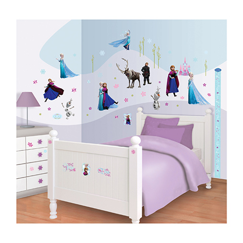 Walltastic Kit adesivi decorativi - Disney Frozen
