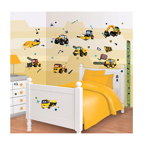 Complementi e decori - Kit adesivi decorativi - Allegro Cantiere My First JCB [43152] by Walltastic