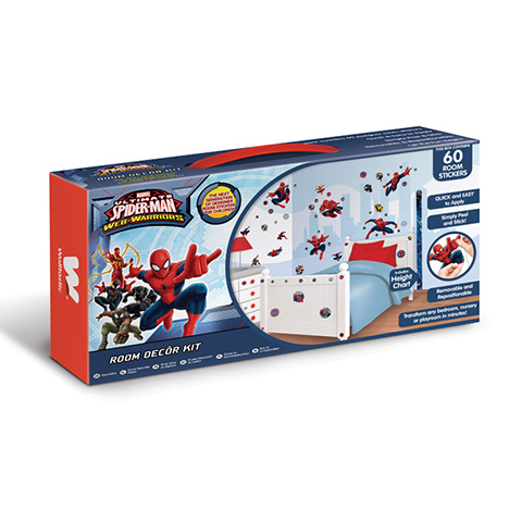 Adhesif mural muraux chambre enfant ultimate spiderman - Stickers muraux decollable ...