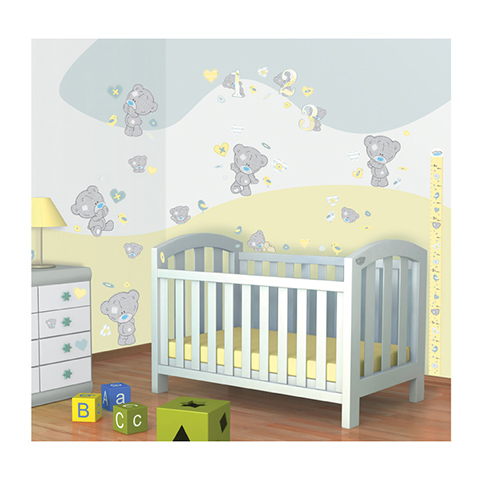 Adhesif mural stickers muraux chambre enfant tiny tatty - Stickers muraux decollable ...