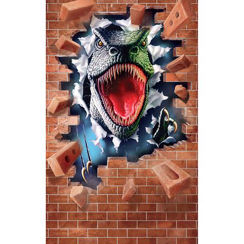 Walltastic Il Ruggito del Dinosauro - poster murale 6 pannelli