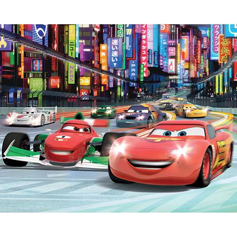 Walltastic Disney Cars - adesivo murale 12 pannelli