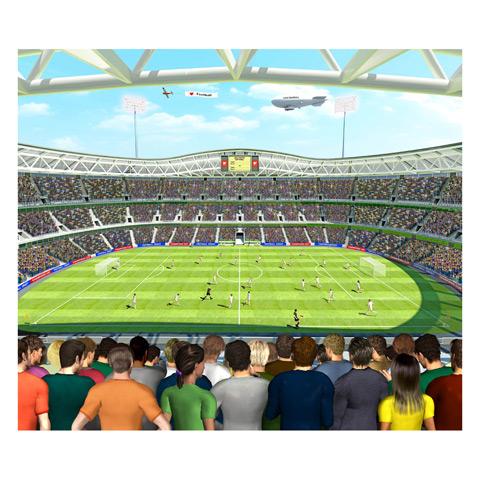 Complementi e decori - Tutti allo stadio - poster murale 12 pannelli FOOTBALL CRAZY [40151] by Walltastic