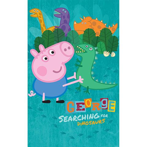 Walltastic George Pig - poster murale 6 pannelli