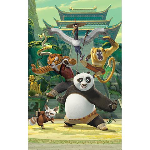 Walltastic Kung Fu Panda - poster murale 6 pannelli