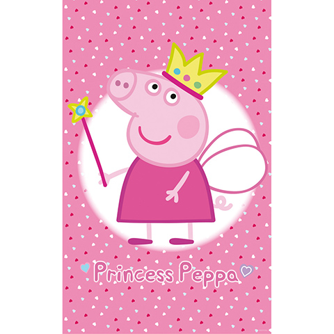 Complementi e decori - Principessa Peppa Pig - poster murale 6 pannelli PRINCESS PEPPA PIG [43718] by Walltastic