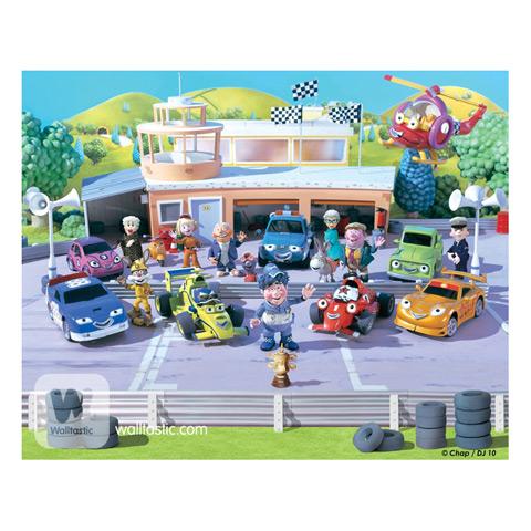 Complementi e decori - Macchinine da corsa - poster murale 12 pannelli ROARY THE RACING CAR [40281] by Walltastic