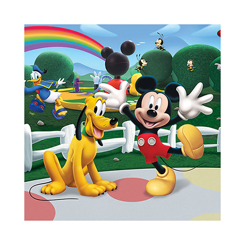 wandtattoo kinderzimmer cm 244x305 disney mickey mouse clubhouse 42056 walltasti ebay. Black Bedroom Furniture Sets. Home Design Ideas