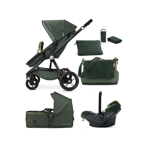 Modulari (DUO e TRIO) - [TRIO] Wanderer + Air.Safe + Scout Limited Edition JUNGLE GREEN by Concord