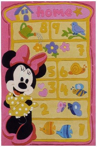 Tappeti per camerette - Tappeto per cameretta La maestrina e i suoi piccoli aiutanti cm. 220 x 150 [WD204] by ABC Italia