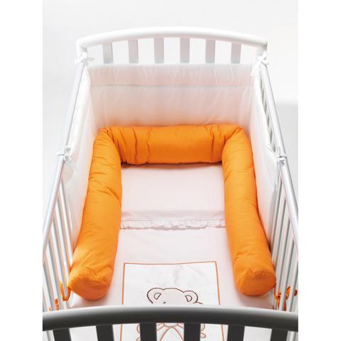 Coperte, lenzuolini e paracolpi - Riduttore letto caramella Sweeties arancio by Pali