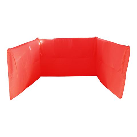 Coperte, lenzuolini e paracolpi - Paracolpi a 3 lati per lettino Rosso by Willy e Co