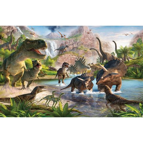 Complementi e decori - La terra dei dinosauri - poster murale 12 pannelli DINOSAUR LAND [41745] by Walltastic